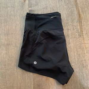 Lululemon speed shorts HR